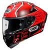 Shoei X-Spirit III Marquez4, Rood-Zwart-Zilver (Afbeelding 1 van 3)