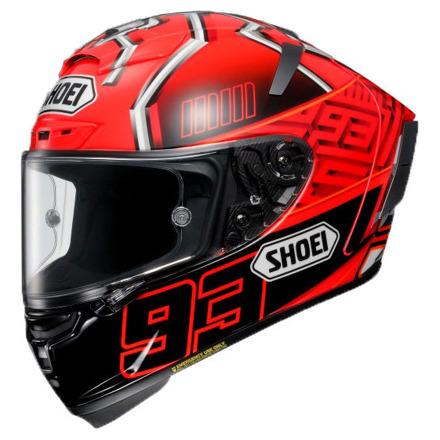 Shoei X-Spirit III Marquez4, Rood-Zwart-Zilver (1 van 3)