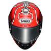 Shoei X-Spirit III Marquez4, Rood-Zwart-Zilver (Afbeelding 3 van 3)