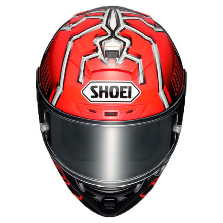 Shoei X-Spirit III Marquez4, Rood-Zwart-Zilver (3 van 3)