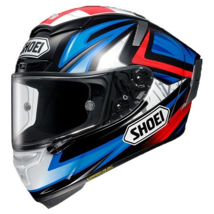 Shoei X-Spirit III Bradley3, Blauw-Wit-Rood (1 van 3)