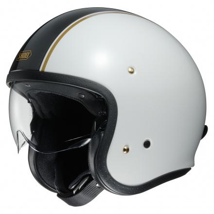 Shoei J.O Carburettor, Wit-Zwart-Goud (1 van 3)