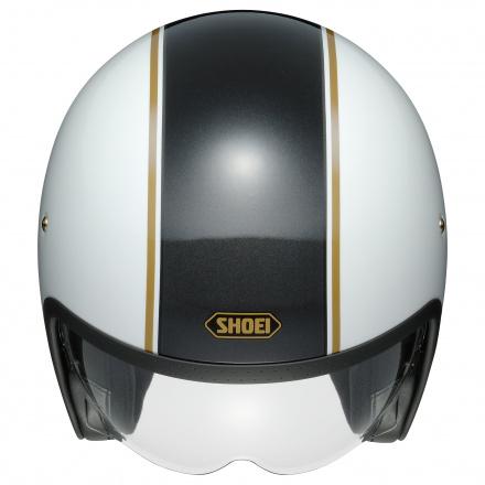Shoei J.O Carburettor, Wit-Zwart-Goud (3 van 3)