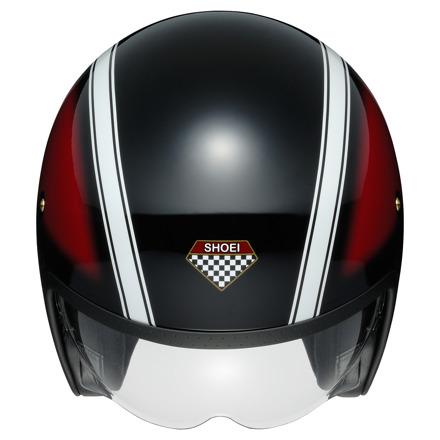 Shoei J.O Hawker, Rood-Zwart-Wit (3 van 3)