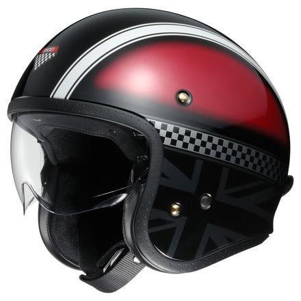 Shoei J.O Hawker, Rood-Zwart-Wit (1 van 3)