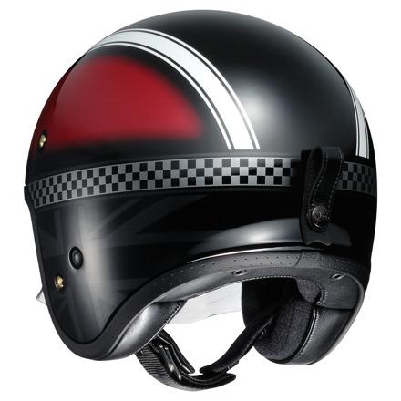 Shoei J.O Hawker, Rood-Zwart-Wit (2 van 3)