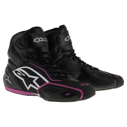 Alpinestars Faster-2 Waterproof (Stella/Ladies), Zwart-Violet (1 van 1)