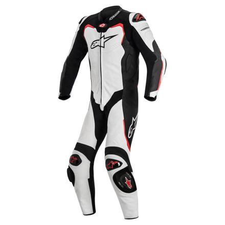 Gp Pro 1pc Suit T/ab - Zwart-Rood