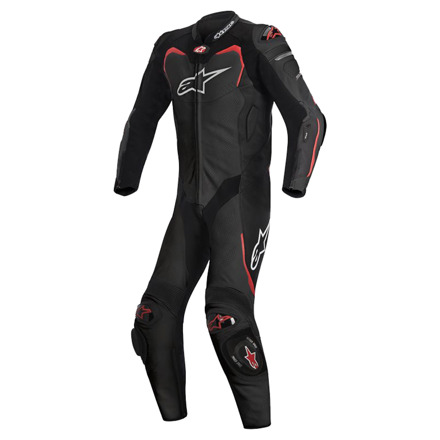 Gp Pro 1pc Suit T/ab - Wit-Zwart-Rood