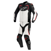 Gp Pro 2pc Lthr Suit - Zwart-Wit-Rood
