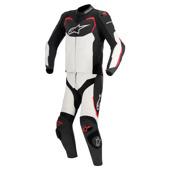 Gp Pro 2pc Lthr Suit - Zwart-Wit-Rood