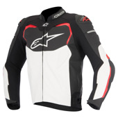 Gp Pro Leather - Zwart-Wit-Rood