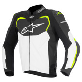 Gp Pro Leather - Zwart-Wit-Fluor