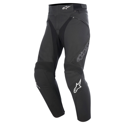 Jagg Leather Pants - Zwart-Zwart