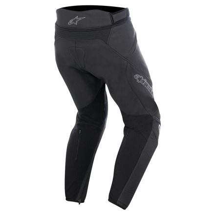 Alpinestars Jagg Leather Pants, Zwart-Zwart (2 van 2)