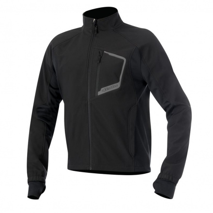 Tech Layer Top - Zwart