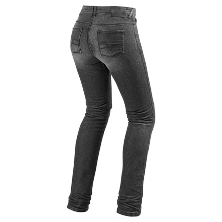 REV'IT! Madison 2 (Ladies Jeans), Donkergrijs (2 van 2)