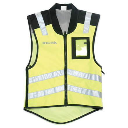 Richa Sleeveless Safety, Fluor (1 van 3)