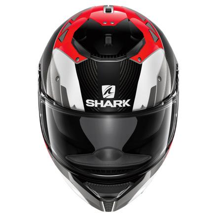 Shark Spartan Carbon Bionic, Carbon-Rood-Wit (3 van 3)