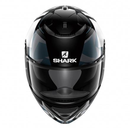 Shark Spartan Droze, Zwart-Wit-Antraciet (3 van 3)