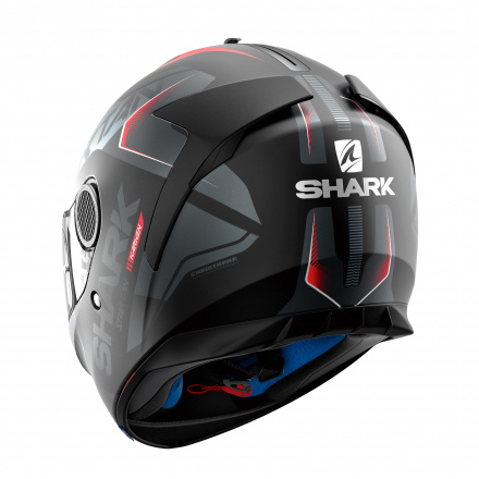 Shark Spartan Karken Mat, Zwart-Rood-Antraciet (2 van 3)