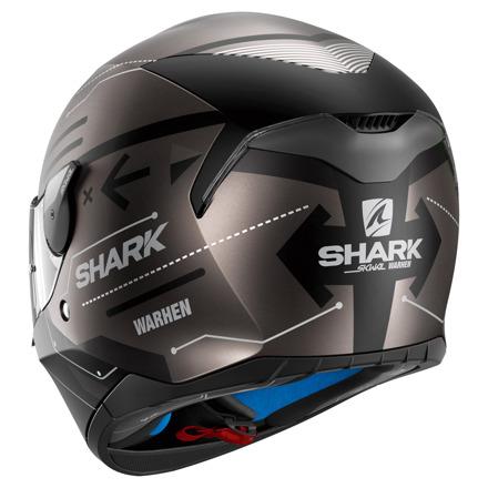 Shark Skwal Warhen Mat, Zwart-Antraciet (2 van 3)
