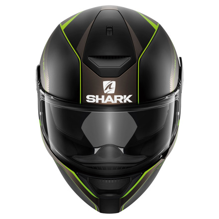 Shark D-Skwal Rakken Mat, Zwart-Antraciet-Groen (3 van 3)