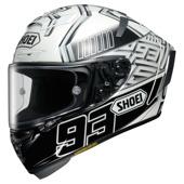 X-Spirit III Marquez4 - Wit-Zwart