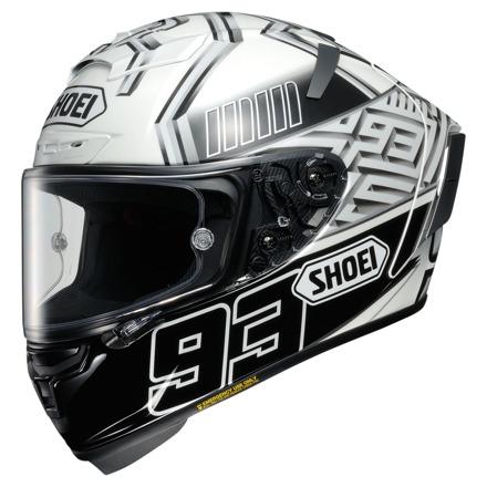 Shoei X-Spirit III Marquez4, Wit-Zwart (1 van 1)