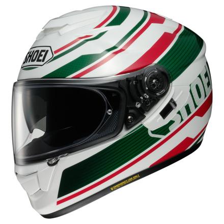 Shoei GT-Air Primal, Wit-Groen-Rood (1 van 1)