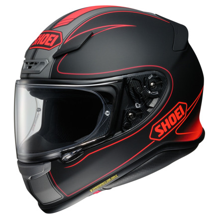Shoei NXR Flagger, Zwart-Rood (1 van 1)