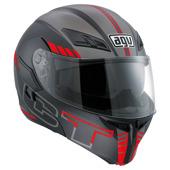 Compact ST Seattle (Pinlock) - Zwart-Zilver-Rood