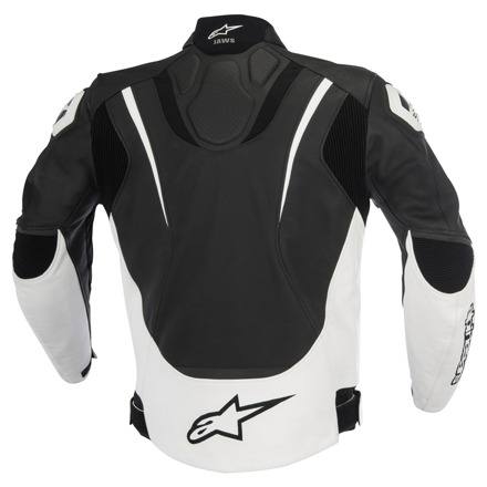Alpinestars Jaws Leather, Zwart-Wit (2 van 2)