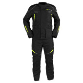 Omega V2 suits (Jack+Pants) - Zwart-Geel