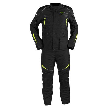Jopa Omega V2 suits (Jack+Pants), Zwart-Geel (1 van 1)
