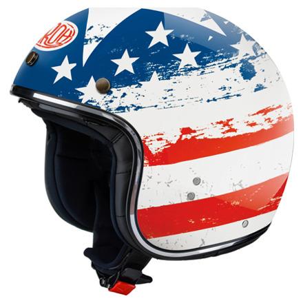 Airoh Riot USA, Rood-Wit-Blauw (1 van 1)
