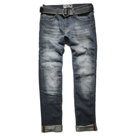 Jeans Caferacer - Blauw