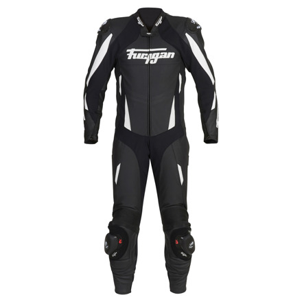 Leather suit Dark Apex - Zwart-Wit