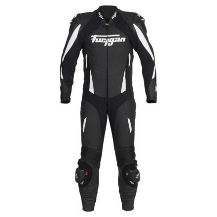 Leather suit Dark Apex - Zwart-Wit