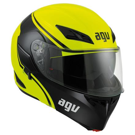 AGV Compact ST Course, Geel-Zwart (1 van 7)