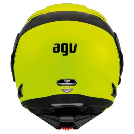 AGV Compact ST Course, Geel-Zwart (5 van 7)