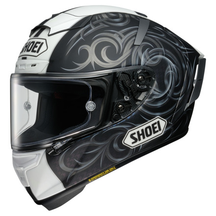 Shoei X-Spirit III Kagayama5, Zwart-Wit (1 van 1)