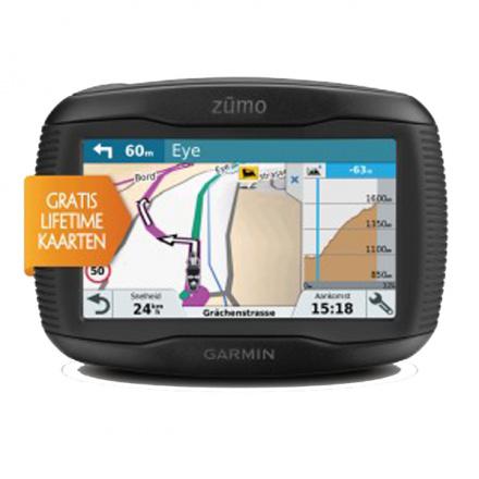 Garmin Zumo 395LM (incl TPMS valve's), Zwart (1 van 8)