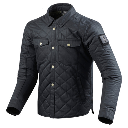 REV'IT! Overshirt Westport, Blauw (1 van 2)