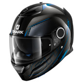 Spartan Carbon Silicium - Zwart-Blauw