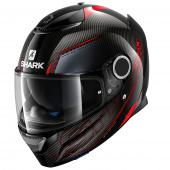 Spartan Carbon Silicium - Zwart-Rood