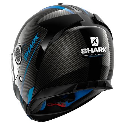 Shark Spartan Carbon Silicium, Zwart-Blauw (2 van 3)
