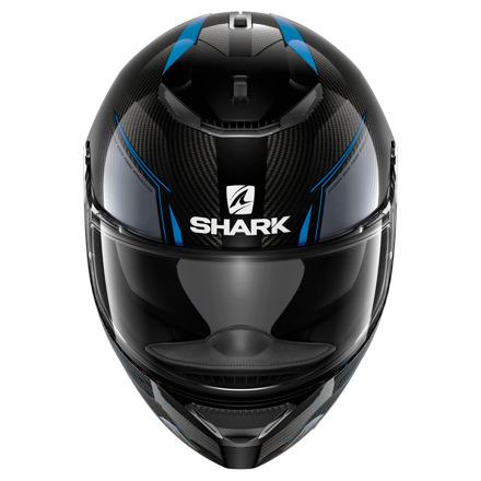 Shark Spartan Carbon Silicium, Zwart-Blauw (3 van 3)