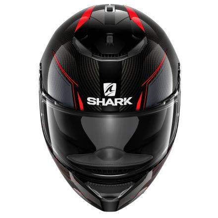 Shark Spartan Carbon Silicium, Zwart-Rood (3 van 3)