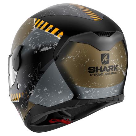 Shark D-Skwal Saurus Mat, Zwart-Goud (2 van 3)
